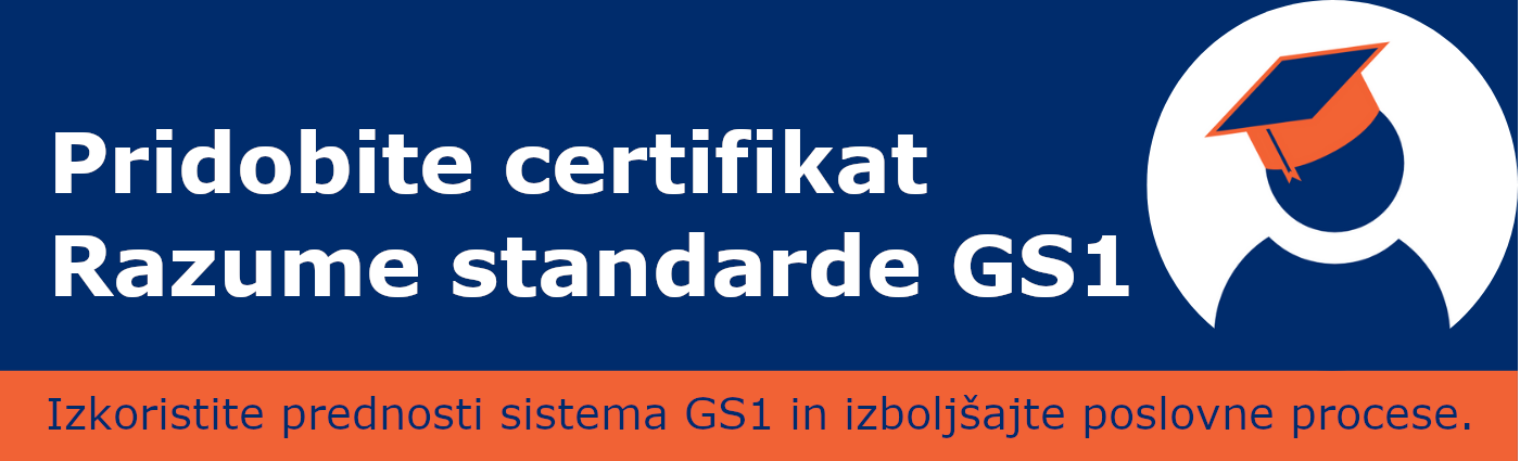 S standardi GS1 do certifikata